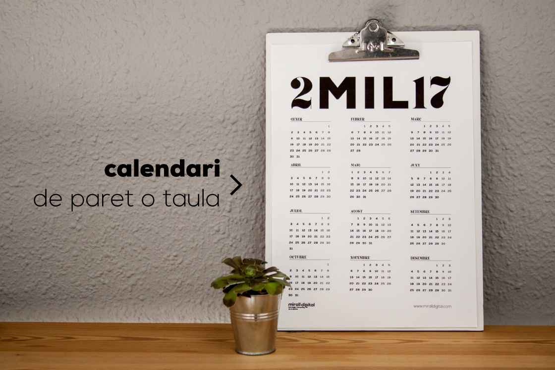 Planners calendari 2mil17 mirall digital marketing reus