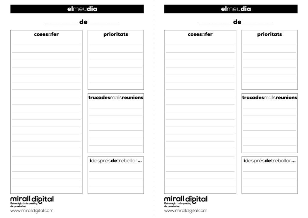 planer diari dia català mirall digital