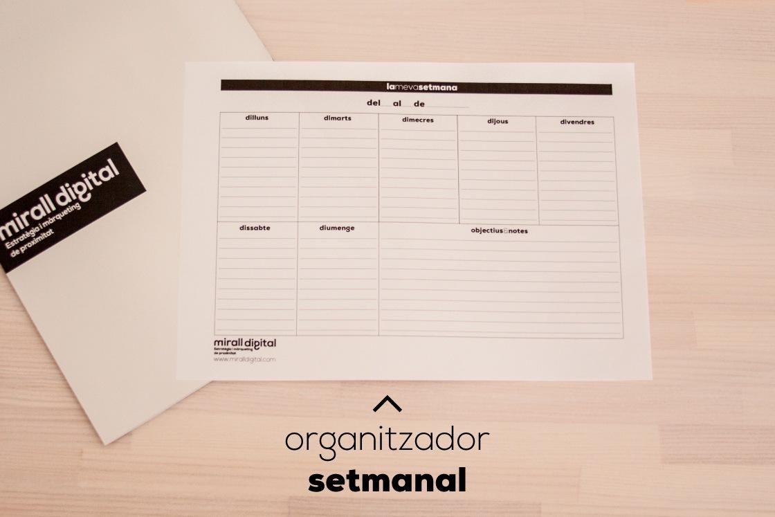 planners organitzador setmanal mirall digital marketing reus