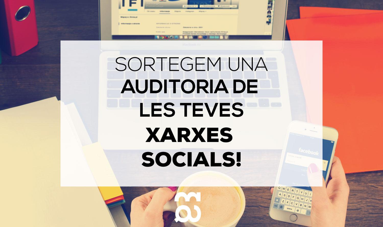 auditoria xarxes socials sorteig